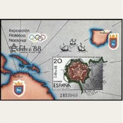 1988 España. EXFILNA '88. (Edif.2956) **