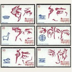 1988 España. V Cent. del Descubrimiento de América (Edif.2969/74
