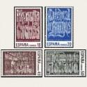 1988 España. Patrimonio de la Humanidad. (Edif.2978/81) **