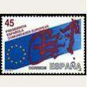 1989 España. Pres. España de las Comdades. Europeas. (Edif.3010)