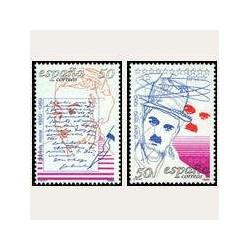 1989 España. Centenarios de Personajes. (Edif.3013/14) **