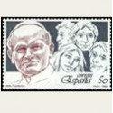 1989 España. El Papa y la juventud. (Edif.3022) **