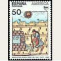 1989 España. América UPAEP. Pueblos Precolombinos. (Edif.3035) *