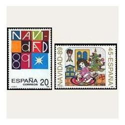 1989 España. Navidad. (Edif.3036/37) **