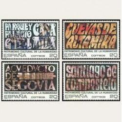 1989 España. Patrimonio de la Humanidad. (Edif.3038/41) **