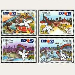 1990 España. Exposicion Universal de Sevilla. (Edif.3050/53) **