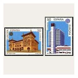 1990 España. Europa CEPT. Establecimientos Postales. (Edif.3058/