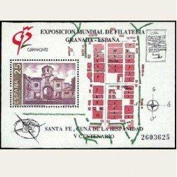 1991 España. Exp. Mundial Filatelia Granada'92. (Edif.3109) **