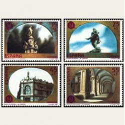 1991 España. Madrid Capital Europea de la Cultura. (Edif.3122/25