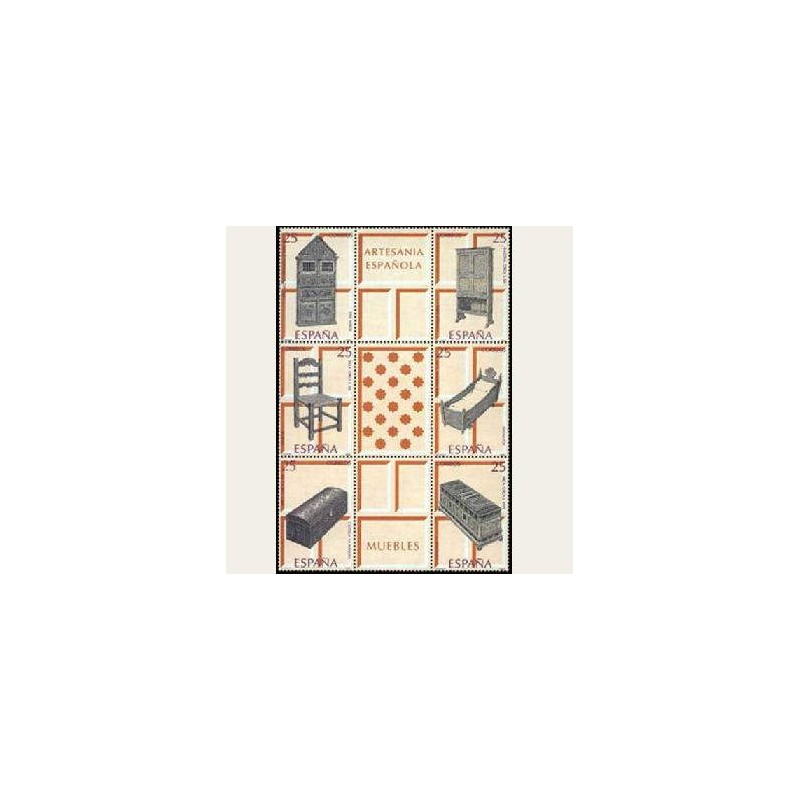 1991 España. Artesanía Española Muebles. (Edif.3127/32) **