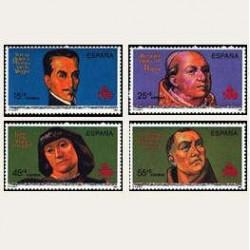 1991 España. V Cent. Desc. de América. (Edif.3137/40) **
