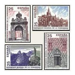 1991 España. Patrimonio Mundial de la Humanidad. (Edif.3146/49)