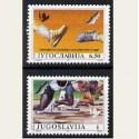 1990 Yugoslavia. Camp. de Europa de Atletismo. Yvert.2303/04 **