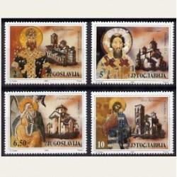 1990 Yugoslavia. Obras de Arte (Yver.2319/22) **