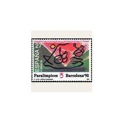 1992 España. Juegos Paralímpicos (Edif.3192) **