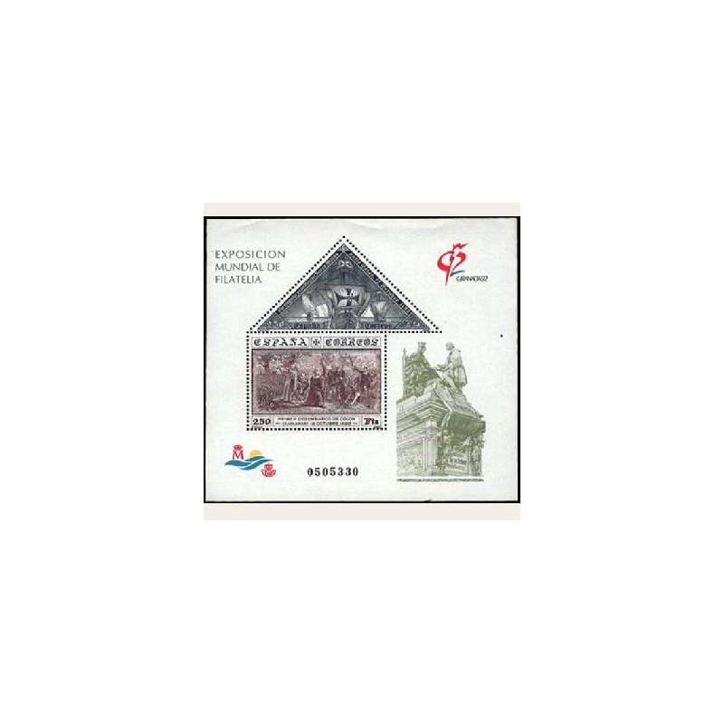 1992 España. Exp. Mundial Filatelia Granada '92 (Edif.3195) **