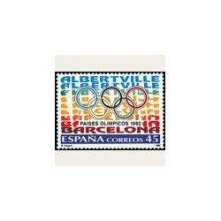 1992 España. Países Olímpicos (Edif.3211) **