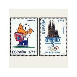 1992 España. XXV Olimpiada Barcelona '92 (Edif.3218/19) **