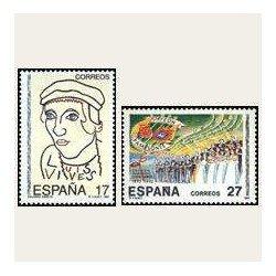 1992 España. Efemérides (Edif.3224/25) **