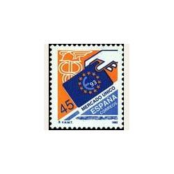 1992 Sellos de España (3226). Mercado Único Europeo.