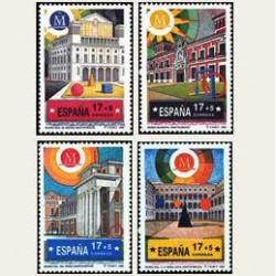 1992 Sellos de España (3228/3231). Madrid Cap. Europea de la Cultura.