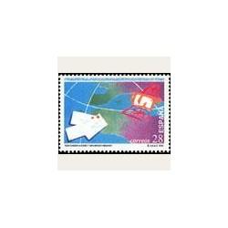 1993 Sellos de España (3255). Día de las Telecomunicaciones.