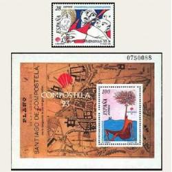 1993 España. Compostela '93 (Edif.3256/58) **