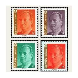 1993 Sellos de España (3259/62). S.M. D. Juan Carlos I.