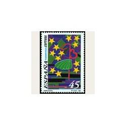1993 Sellos de España (3269). Diseño Infantil.