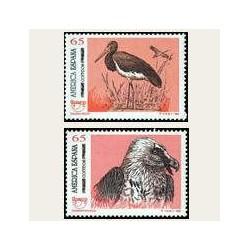 1993 Sellos de España (3270/71). América UPAEP - Aves.