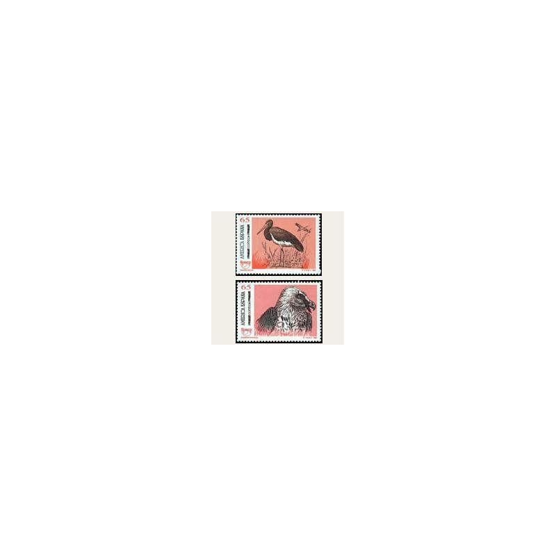 1993 España. América UPAEP - Aves (Edif.3270/71) **
