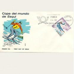 1977 SPD España. Copa del Mundo de Esquí. Edif.2408