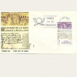 1977 SPD España. Milenario de la Lengua Castellana. Edif.2428