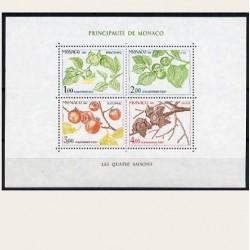 1981 Mónaco. La Cuatro Estaciones del Caqui. (Yvert.HB-20) **