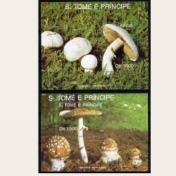 1992 Sto. Tomé y Príncipe. (Yvert.HB-116/7) **