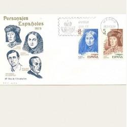 1979 SPD España. Personajes Españoles. Edif.2512/15