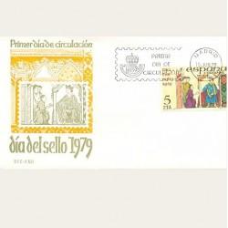 1979 SPD España. Día del Sello. Edif.2526