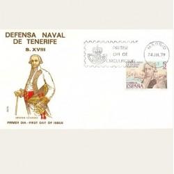 1979 SPD España. Defensa de Tenerife. Edif.2536