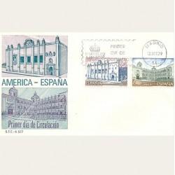 1979 SPD España. América-España Monumentos. Edif.2544/45