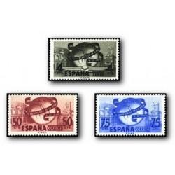 1949 Sellos de España. LXXV Aniv. de la U.P.U. (Edif. 1063/65) **
