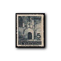 Barcelona 1938. Puerta Gótica del Ayuntamiento. Edif.19 **