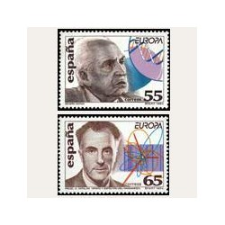 1994 España. Europa. Descubrimientos (Edif.3301/02) **