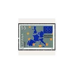1994 Sellos de España (3324). Unión Europea Occidental.