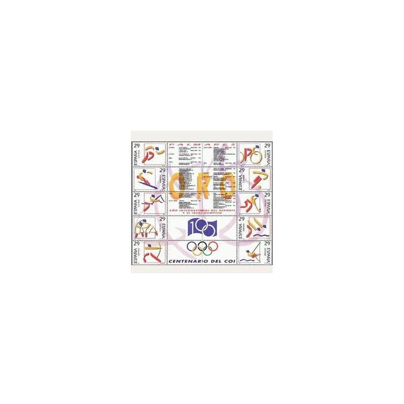 1994 España. Deportes. Olímpicos de Oro (Edif.3325/34) **