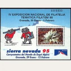 1995 Sellos de España (3340). IV Exp. Filatélica Temática.