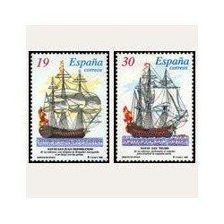 1995 España. Barcos de Época (Edif.3352/3SH) **