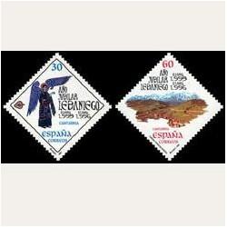 1995 Sellos de España (3354/55). Año Jubilar Lebaniego.