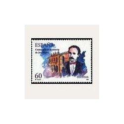 1995 España. Cent. Fallecimiento de José Martí (Edif.3358) **