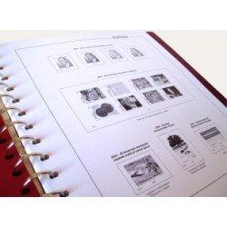 Suplemento Anual Hojas Anfil España 2004 sellos cortados de H.B.