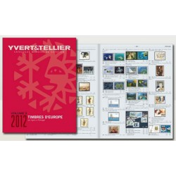 Catálogo de Sellos Yvert et Tellier Europa vol. III 2012 de Ingrie a Portugal